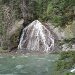 maligne-canyon-waterfall