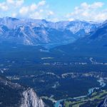 Vue Banff Mont Sulfur