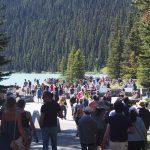 Lake Louise Foule