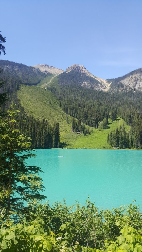 Emerald Lake Road trip Rocheuses