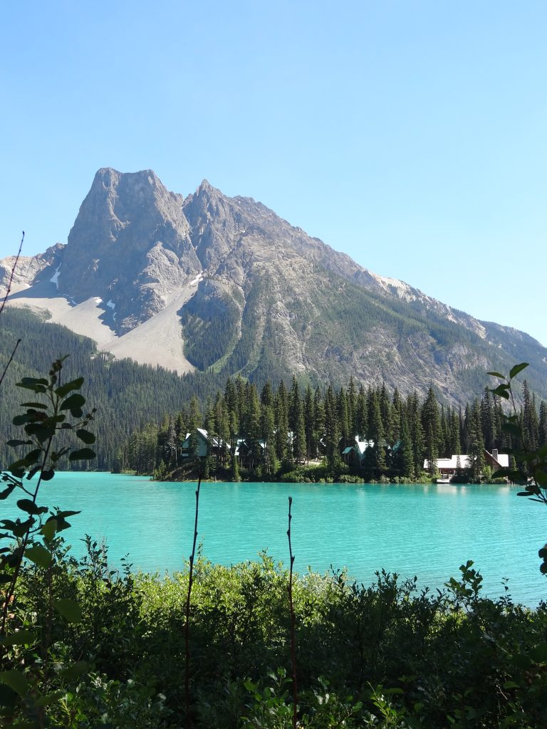 Emerald Lake Rockies Water