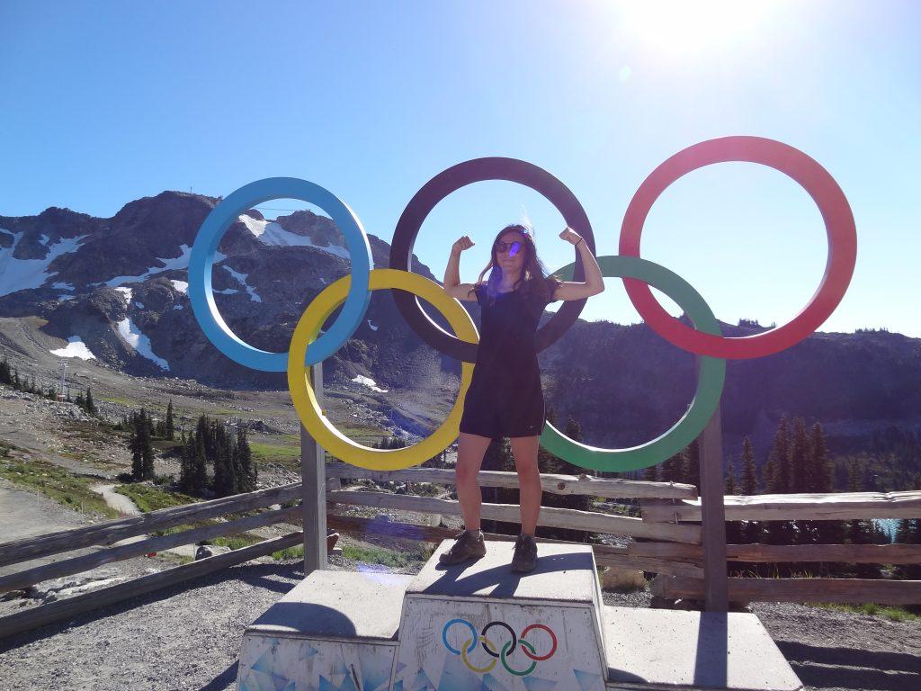 Whistler Podium Olympique
