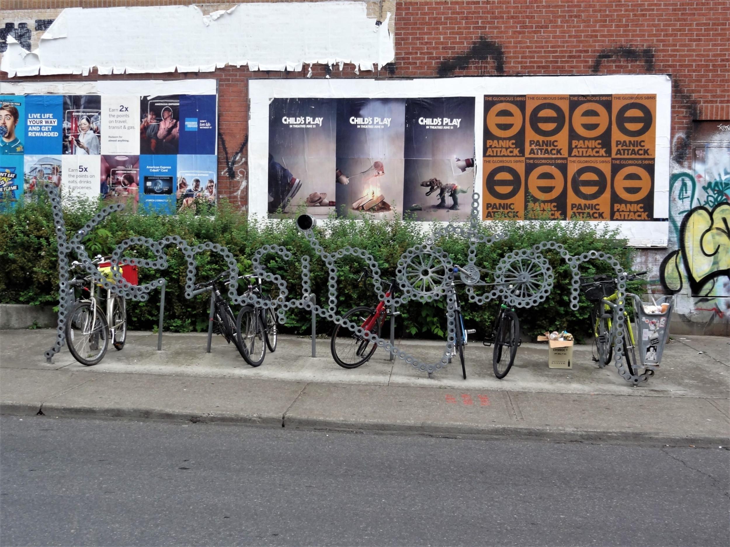 Kensington Market Sculpture Vélos
