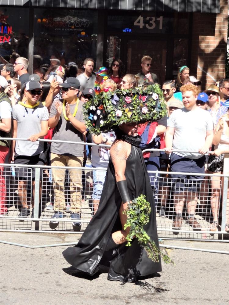 Costume Fleurs Toronto Pride