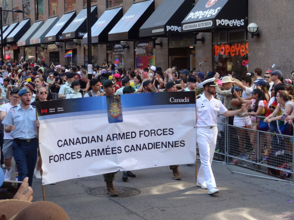 Armée Canadienne Pride Toronto