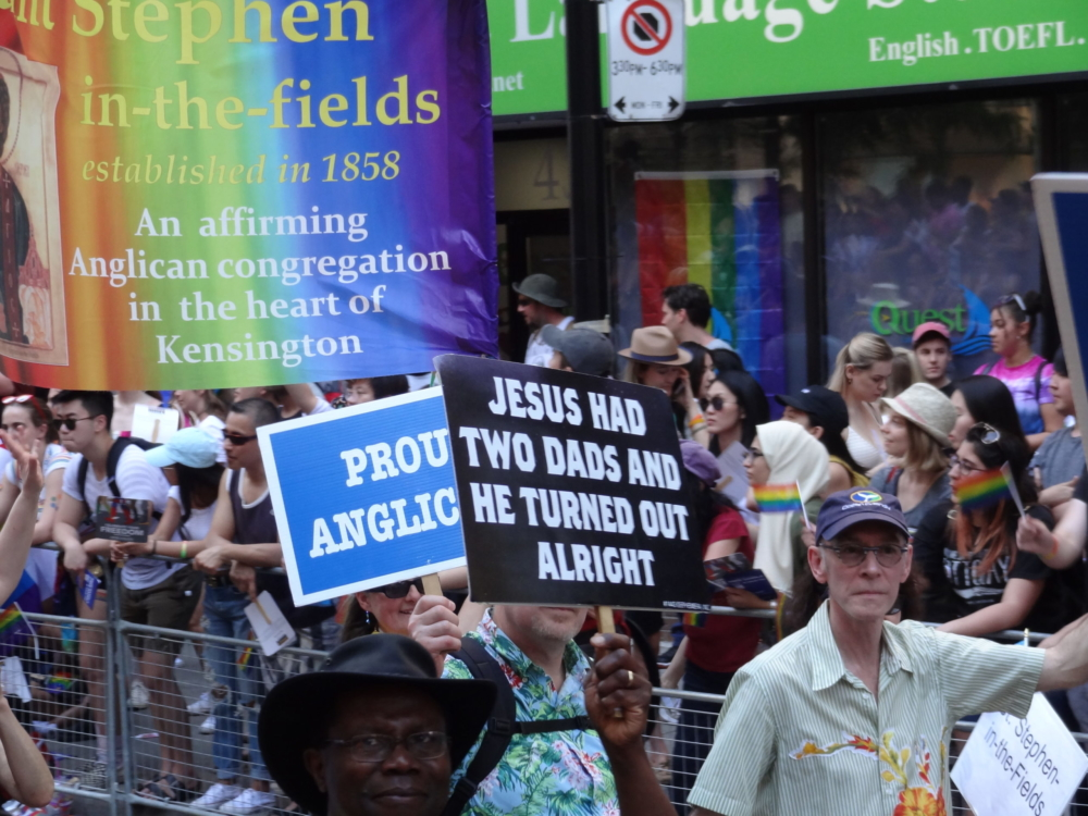 Jesus Toronto Pride 2019